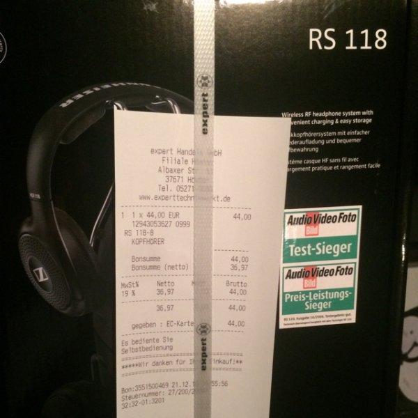 Sennheiser RS118