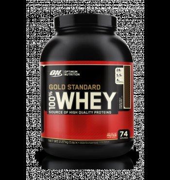 Optimum Nutrition 100 % Whey Gold Standard Protein French Vanilla 2273g Nur 39,59 Euro  [Amazon Blitzangebot]