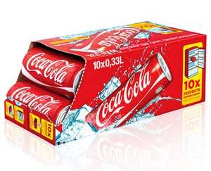 (Aldi Nord)Coca-Cola/-light/-Zero Friendspack 10x0,33 l Dosen für 3,79€