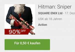 Google Play: Hitman: Sniper 0,50€