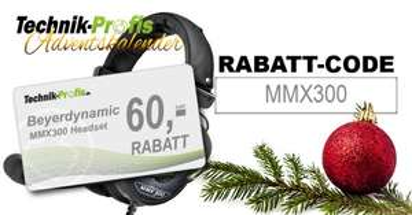 [technik-profis.de] Beyerdynamic MMX300 Headset