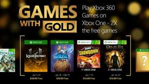 Games with Gold Januar