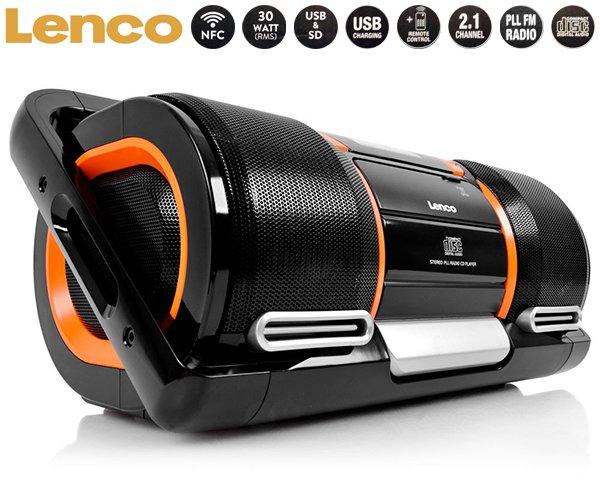 [1dayfly] Lenco SCD-1900 Boombox MIT BLUETOOTH UND NFC