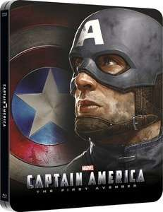 Captain America: The First Avenger 3D (Includes 2D Version) - Zavvi Exclusive Lenticular Edition Steelbook Blu-ray