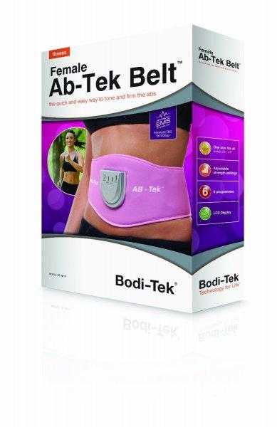 Last-Minute-Geschenk[Amazon.de-Prime] Bodi-Tek EMS-Gürtel Ab-Tek, pink
