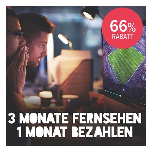 Magine TV 3 Monate Magine für 6,99 - je 1 monat 2,33
