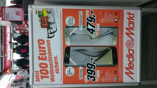 100€ auf Samsung Galaxy S6 &  S6 Edge [Media Markt]