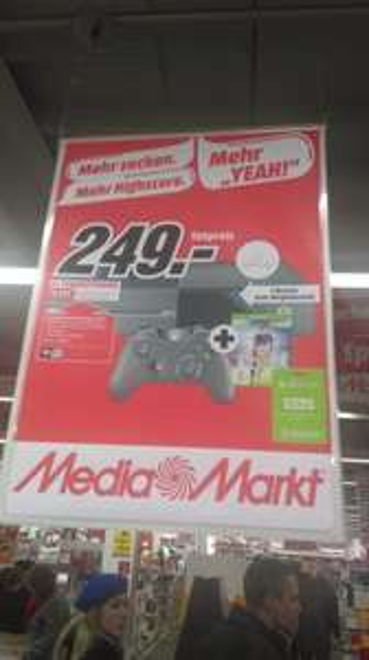 [Media Markt Magdeburg] lokal, XBOX ONE mit FIFA 16 + 3 Monate Xbox live für 249€
