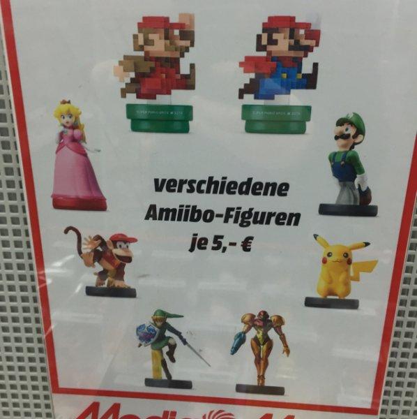 (Lokal MM Mainz) Amiibo Figuren für 5 Euro