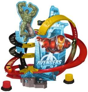 [Amazon.de] Majorette 213089707 - The Avengers Battle Track Set Höhe 50 cm, rot/gelb/schwarz 29,99€