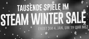 Steam Winter Sale 2015 ist da!
