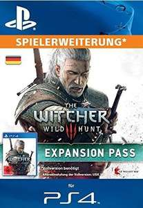 The Witcher 3: Wild Hunt Expansion Pass [PS4 PSN Code] @ Amazon