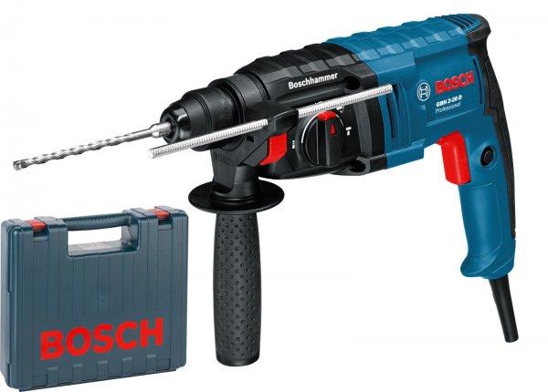 Bosch Bohrhammer GBH 2-20 D mit Meißelfunktion / Koffer 99 EUR @ebay