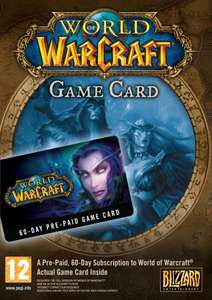 [Amazon.co.uk] World of Warcraft 60 Tage Pre-Paid Game Time Card für 14,55€