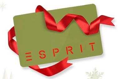 Esprit Gutscheinkarte ab 50,00 € kaufen und 10,00 € Gutscheinkarte geschenkt dazu (Online und im Store)
