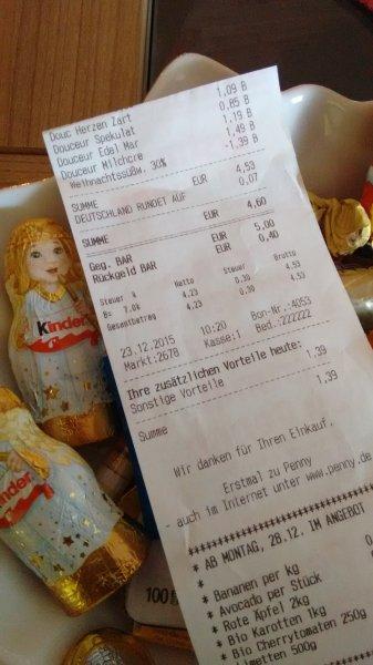 50% Rabatt auf Weihnachtssüßwaren bei Penny
