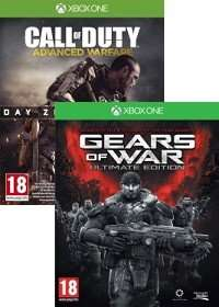 [gamesonly.at] Call of Duty Advanced Warfare [Day Zero uncut] + Gears of War Ultimate uncut (Xbox One) für 33,33€ + VSK