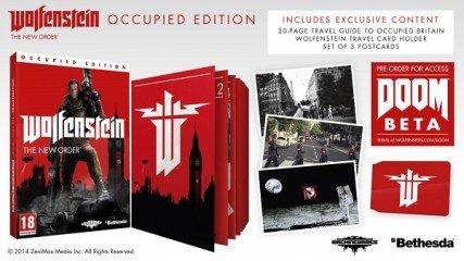 [game.uk.co] Wolfenstein: The New Order Occupied Edition (One/PS4) für 17,60€
