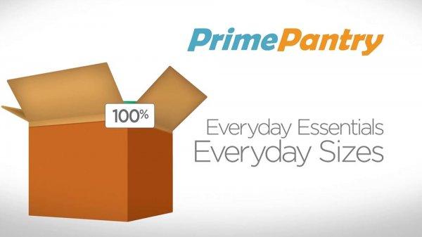 [Amazon Pantry] 10 EUR Rabatt bei Amazon Pantry ab einem Bestellwert von 50 EUR + Versandkostenfrei