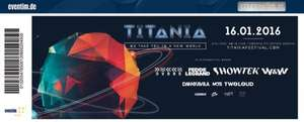 TITANIA - EDM Festival in Oberhausen 16.01.2015 (König Pilsner Arena)