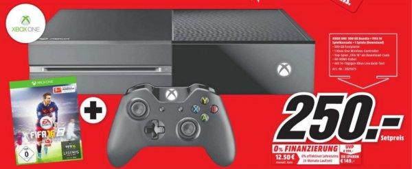 Xbox One 500GB + Fifa 16 (Lokal-Meerane) 250€