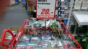 Ubisoft Spiele je 20,- FarCry 4, The Crew, Assassin's Creed Unity und mehr PS4 & XBox One (Lokal Media Markt) Playstation 4