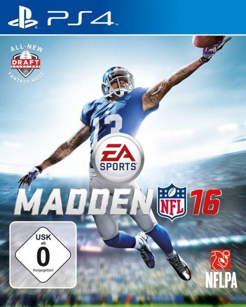 Madden NFL 2016 für PS4 und Xbox One jeweils 25,98 € @ Saturn Latenight Shopping (Mit Füllartikel und 5 € NL-Gutschein, ohne 29,99 €)