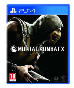 (Amazon.co.uk) Mortal Kombat X PS4 + XBOX ONE