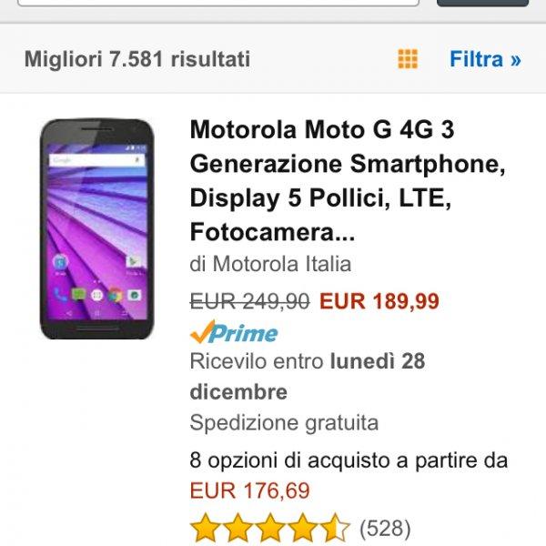 Motorola Moto G 16GB/2GB RAM