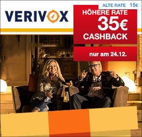 [Verivox] [qipu] nur heute 35€ Cashback für deinen Gas- oder Stromvertrages