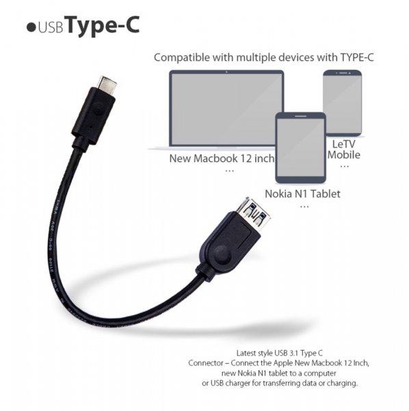 Amazon: Kostenloses Micro USB 3.1 TYP C Kabel