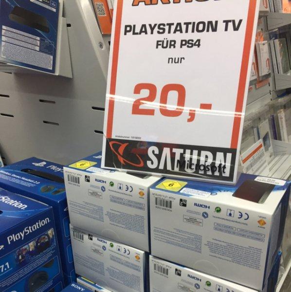Update 02.01.16: Saturn [lokal München Stachus] Playstation TV 20€ immer noch da