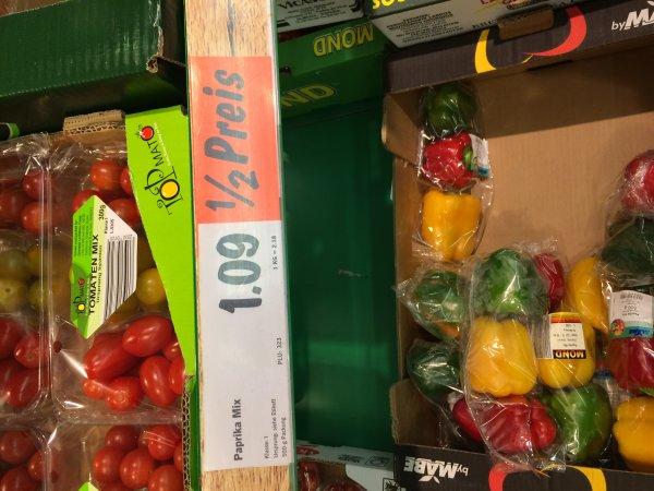[Lokal Lidl ] Karlsruhe Tivoli  1/2 Preis Obst und Gemüse