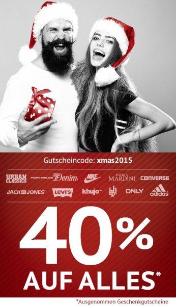 40% auf ALLES (außer Gutscheine) im Hoodboyz Online Shop
