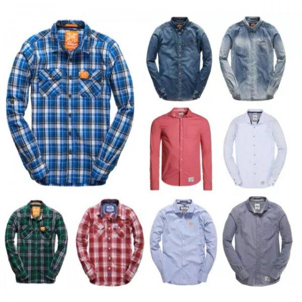 eBay WOW Angebot - Superdry Hemden für 20€