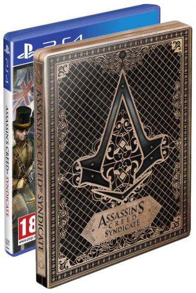 [amazon.co.uk] Assassin's Creed Syndicate Amazon Exclusive Steelbook Bundle PS4 für 34,94€