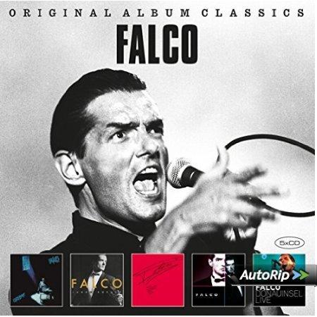 Amazon Prime : CD Falco - Original Album Classics 5 er Box-Set - Nur 9,99 € Inklusive kostenloser MP3-Version dieses Albums.