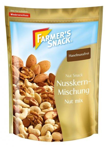 Amazon Prime Farmer's Snack Nusskernmischung 4er Pack (4 x 200 g Beutel) - Nur 7,98 € statt 15,96 €