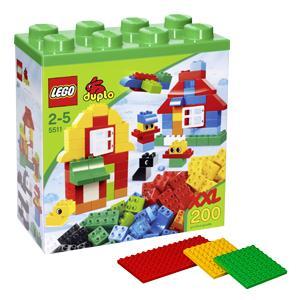 Lego Duplo 5511 XXL Baustein Set + gratis Bauplattenset (4632) bei Real onlineshop