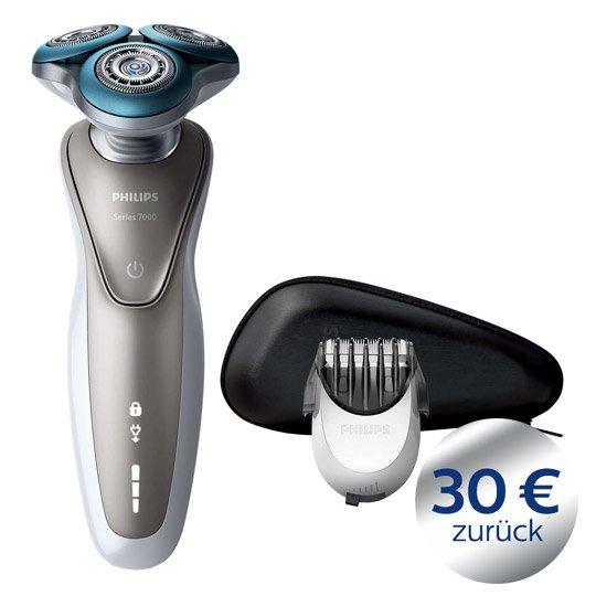 Philips, Rasierer Series 7000 S7510/41 - Real@online Bestpreis + 30€ Casback