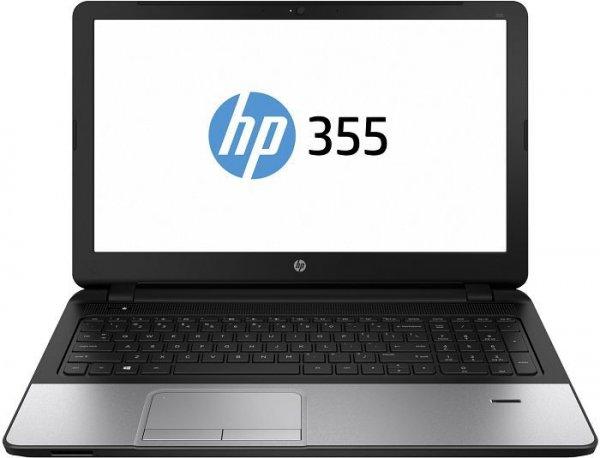"""15"""" Allround Notebook HP 355 G2 (L8B02ES) mit AMD A8-6410 (4x2,0GHz), 4GB RAM, 500GB HDD non OS für 269,90€ zzgl. Versand"""