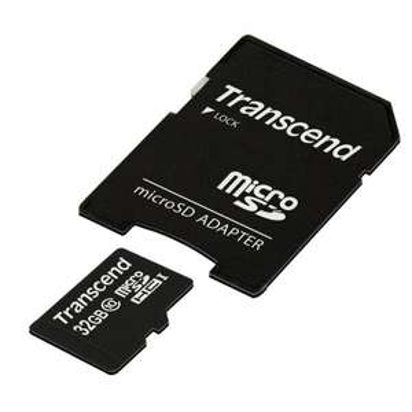 [Otto] Transcend Speicherkarte 32GB microSDHC Class 10 inkl. SD Adapter 9,49€ zzgl. Versand mit Code und Guthaben Freebie möglich durch OTTOCARD GUTHABEN (bis 31.12. gültig)!