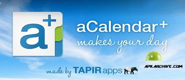 Android aCalendar+ reduziert um 45% auf 1,99€