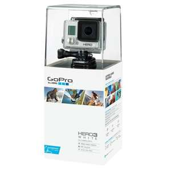 [amazon.co.uk]GoPro HERO3 mit Extra Battery weiß 132£(179,45€) incl. Versand