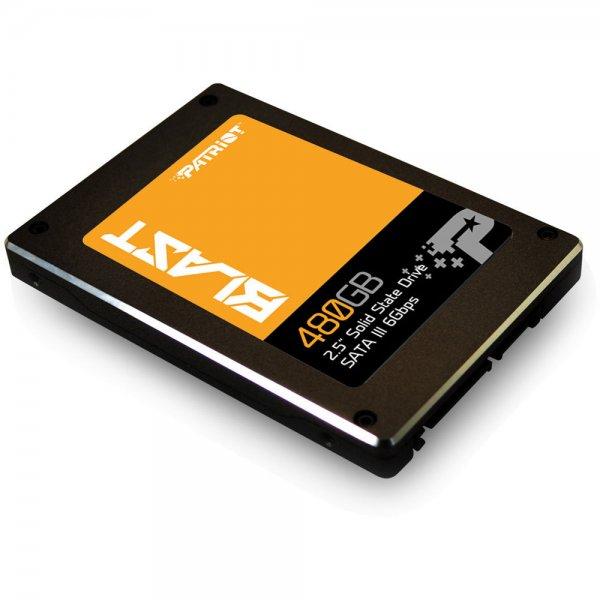 """Patriot Blast 2,5"""" SSD mit 480GB SATA III für nur 125 € statt 146 €, @ZackZack"""