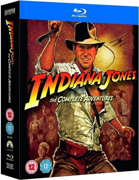 Indiana Jones: The Complete Adventures Blu-ray für 17,19€ @zavvi.com