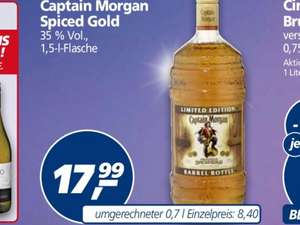[real] Captain Morgan 1,5 l ab 28.12.