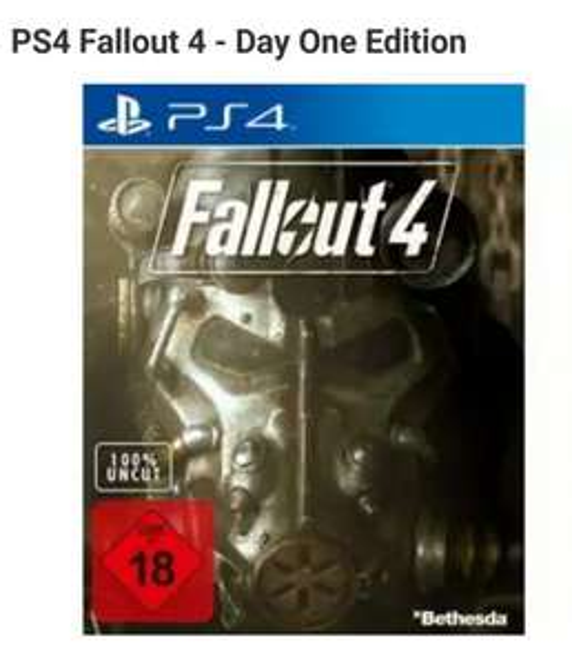 39,- € Fallout 4 PS4 Lokal Hannover / Garbsen