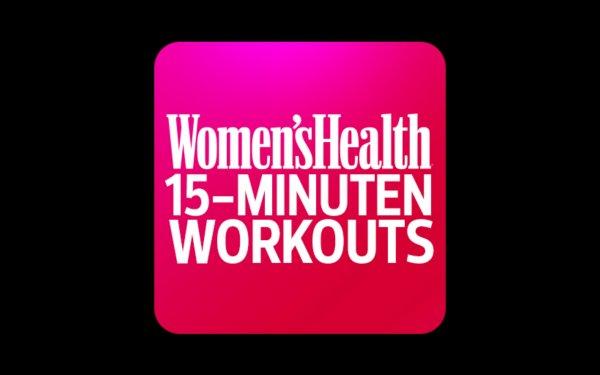 [Google Play Store] Women's Health 15-Min-Workouts