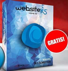 WebSite X5 Home 12 gratis (statt ~20€)